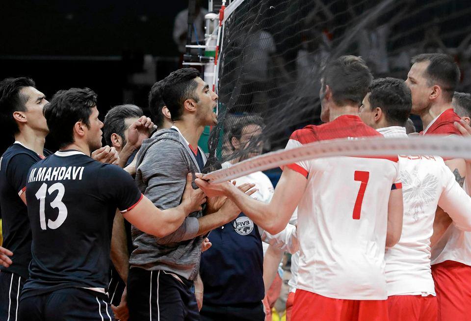Zdjęcie numer 0 w galerii - Rio 2016. Polska - Iran 3:2. Prowokacje, zaczepki, a po meczu AWANTURA! [ZDJĘCIA]