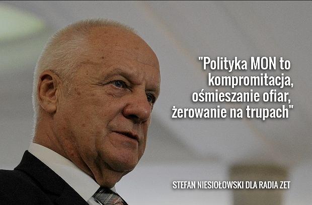Stefan Niesio�owski dla Radia ZET