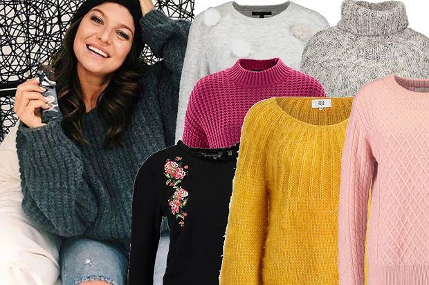 Grube, kolorowe, a może wzorzyste? Jakie swetry wybrały dla siebie Lewandowska, Kwaśniewska i Zając? A jakie wy powinnyście mieć w swojej szafie? Może nasze propozycje was zainspirują!