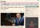 """Andrzej Duda w """"Financial Times"""": Nie chcemy by� stref� buforow� NATO"""