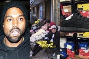 Kanye West, kolejka po buty