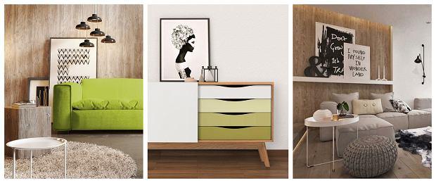 Pomysły na eksponowanie obrazów w salonie