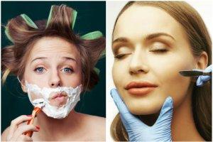 Kobiety zaczęły masowo golić twarze. Czy rzeczywiście jest to najlepszy sposób na zdrową i piękną cerę?