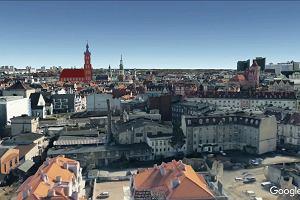Animacja kolegiaty św. Marii Magdaleny w pejzażu współczesnego Poznania