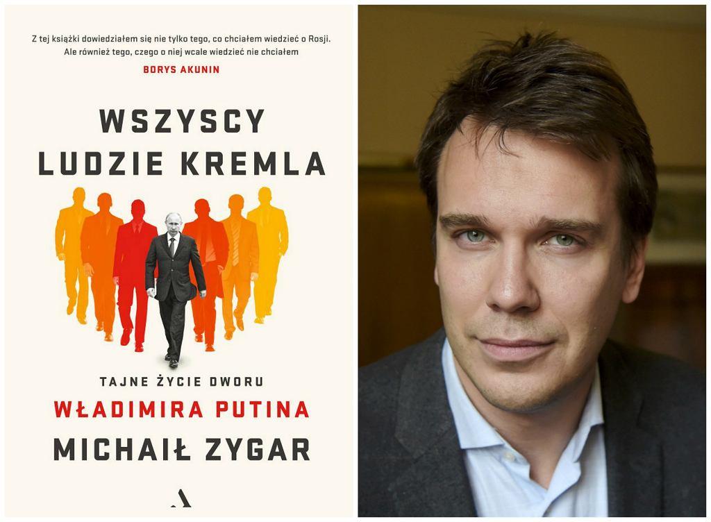 Książka ''Wszyscy ludzie Kremla'' Michaiła Zygara w Rosji stała się bestsellerem (fot. materiały prasowe)