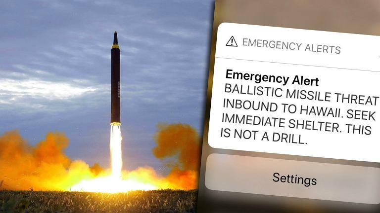 Fałszywy alarm rakietowy na Hawajach