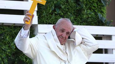 Papież Franciszek podczas pielgrzymki w Chile