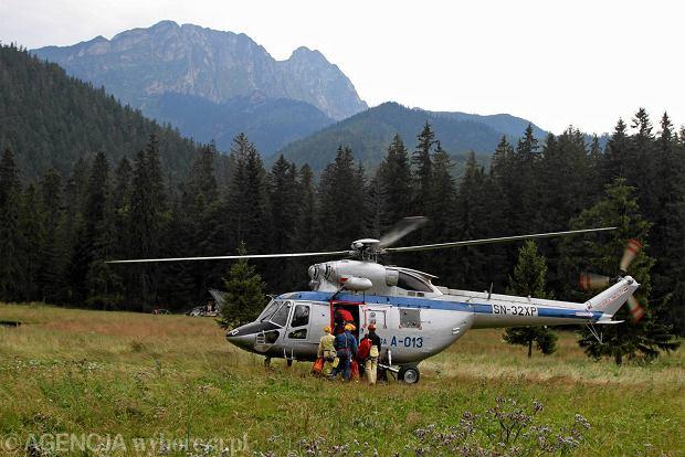 Za�amanie pogody, tury�ci utkn�li w Tatrach Wysokich