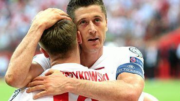 Robert Lewandowski i Jakub Błaszczykowski. Polska - Gruzja