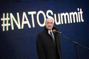 Macierewicz przed szczytem NATO: Mamy podstawy czuć się bezpiecznie