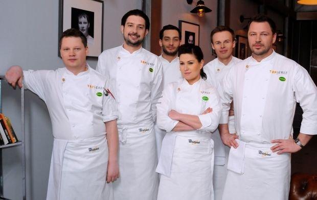 """Znamy półfinalistów """"Top Chef"""". Amaro: Było trudno. Cóż, on nie wyjmował foremek z pieca bez rękawic"""
