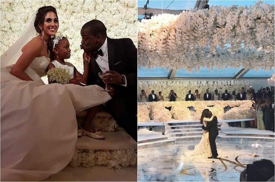 Zdjęcie numer 0 w galerii - Syn miliarderki miał wesele za 24 miliony. Przepych? To mało powiedziane. A wśród gości ONA