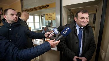 19 lutego 2018 r. Sekretarz generalny PO Stanisław Gawłowski niewzywany stawia się w prokuraturze
