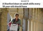 Była dziekan uniwersytetu Stanford wymienia zdolności, które każda osiemnastolatka powinna mieć opanowane