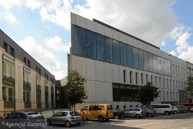 Nowy gmach ASP w Warszawie, fot. Franciszek Mazur