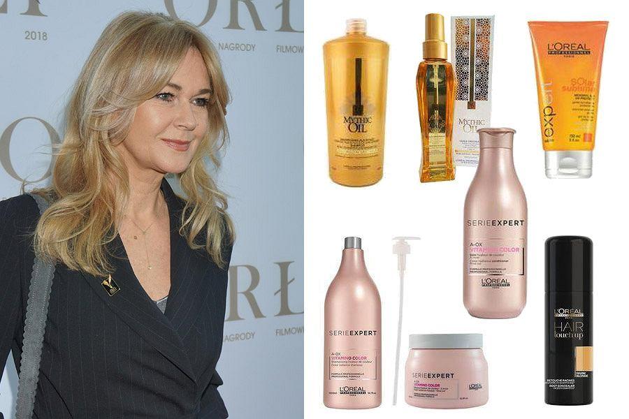 Kolaż, kosmetyki do pielęgnacji włosów/Materiały partnera