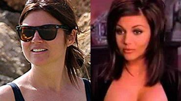 """Tiffani-Amber Thiessen w """"Beverly Hills 90210"""" wcieliła się w rolę podłej intrygantki. Choć była najmniej lubianą bohaterką serialu, jej kobiece wdzięki pokochali mężczyźni, a gwiazda uchodziła za seksbombę. Powodem były szalenie kobiece kształty, które uwielbiała eksponować. Dziś 42-letnia aktorka wcale nie wygląda mniej ponętnie. Gdy pojawiła się na plaży w Oahu na Hawajach, trudno było oderwać wzrok od jej krągłości. Zajrzyjcie do galerii i przekonajcie się sami!"""
