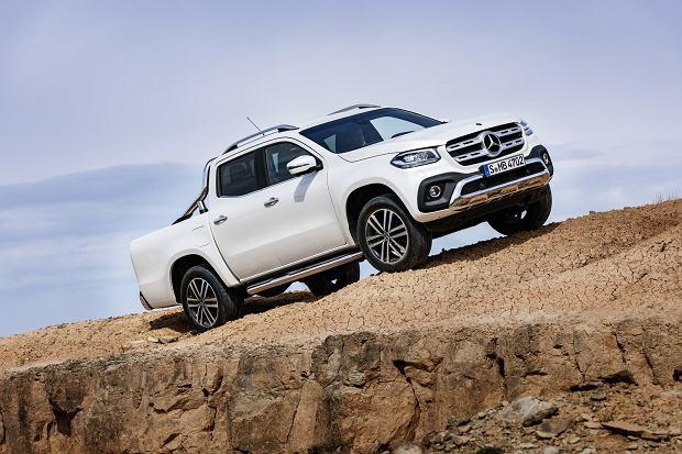 Mercedes klasy X. Oficjalna prezentacja pickupa premium