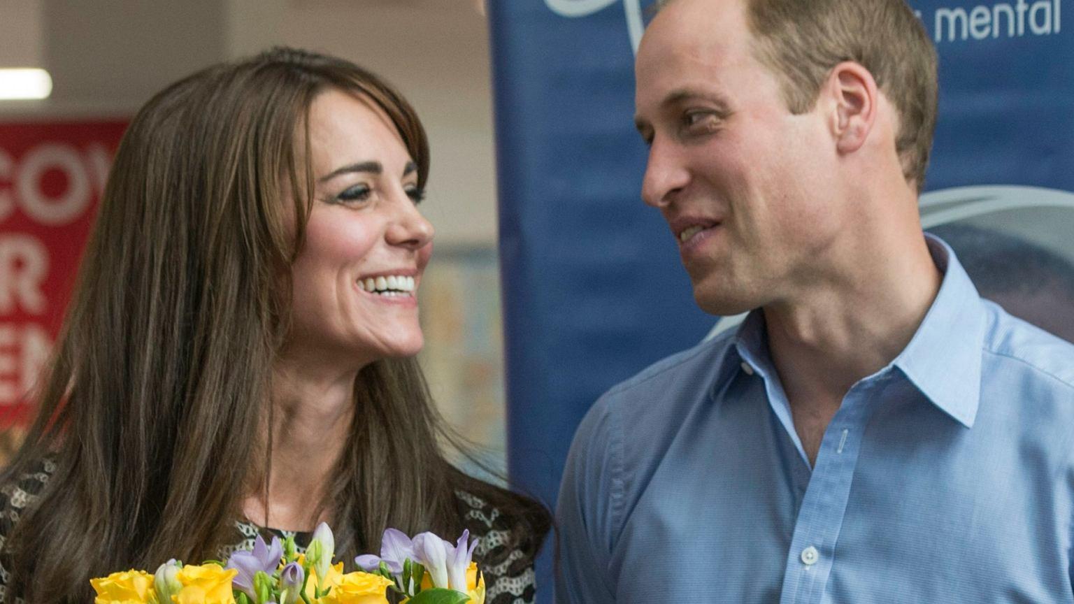 Księżna Kate I Książę William Na Romantycznym Wypadzie Z
