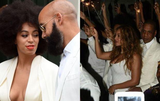 Wszyscy ubrani na bia�o, wpadka z kreacj� panny m�odej, rozta�czeni Beyonce i Jay Z w�r�d go�ci. Tak wygl�da� �lub Solange Knowles