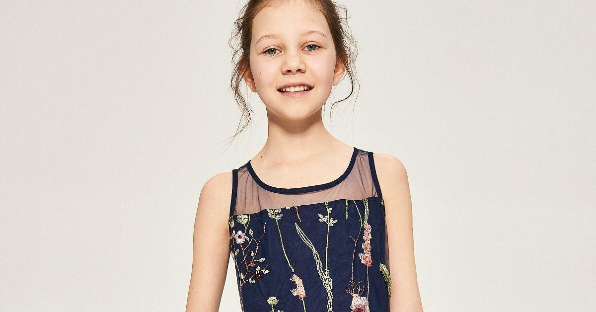 d6d1a7c7411e6d Markowe ubrania dla dziewczynek w wieku 10 lat. Da się modnie i tanio
