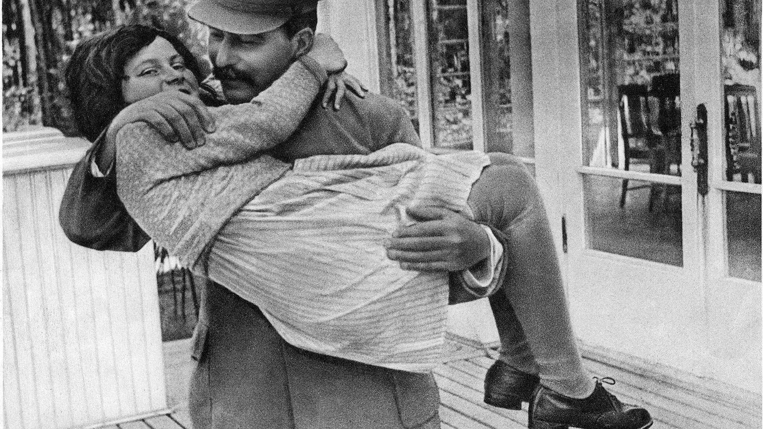 Stalin z córką Swietłaną