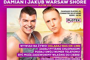 Jakub i Damian z Warsaw Shore