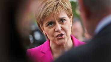 Zdaniem szefowej autonomicznego rządu Szkocji Nicoli Sturgeon (n/z) Londyn wcale nie dba o Szkotów
