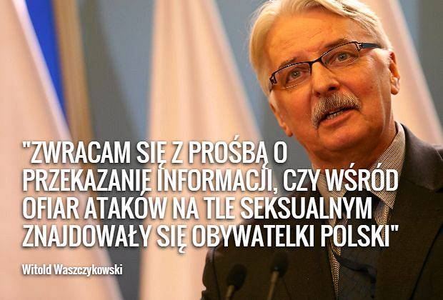 List Witolda Waszczykowskiego do szefa MSZ Niemiec