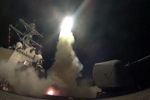 Wojna w Syrii. Trump dał rozkaz, USA zaatakowały Syrię. Wystrzelono 59 Tomahawków