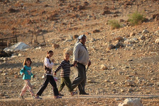 Beduini w Dolinie Jordanu