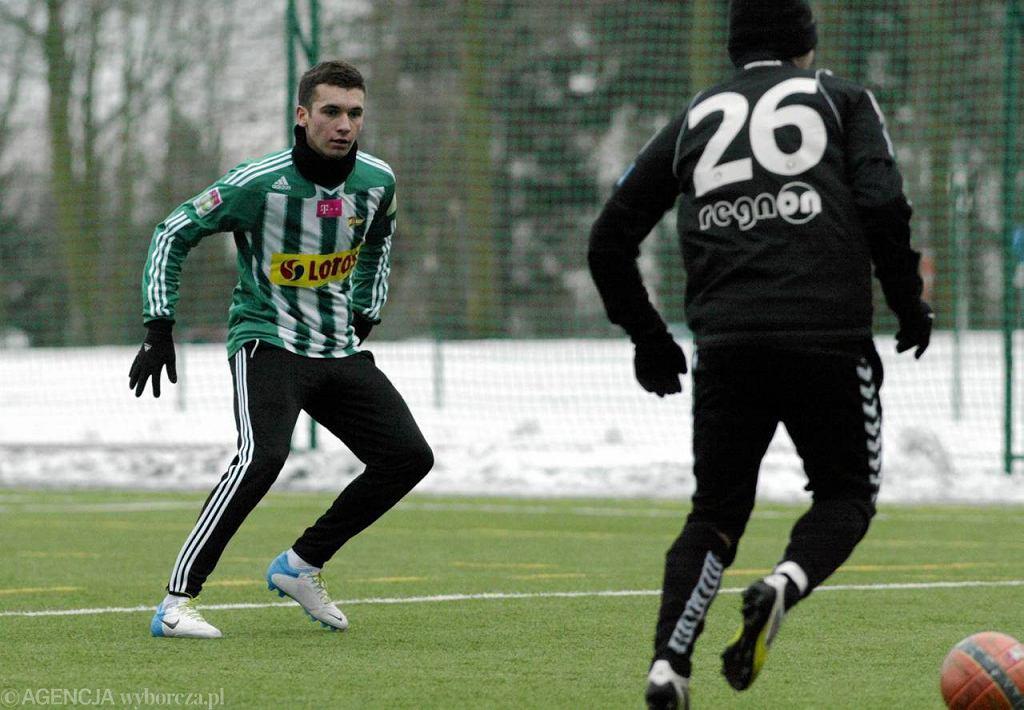 Damian Garbacik (z lewej)
