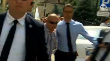 Szef sztabu PiS agresywny do dziennikarza
