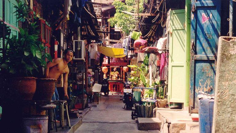 Boczne ulice Bangkoku
