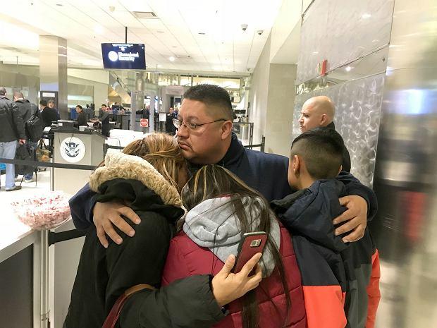 Jorge Garcia żegna się z rodziną