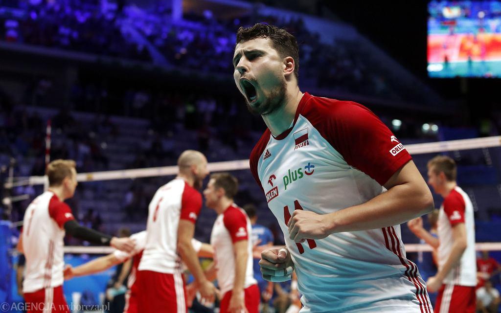 Fabian Drzyzga, mecz Polska - Serbia