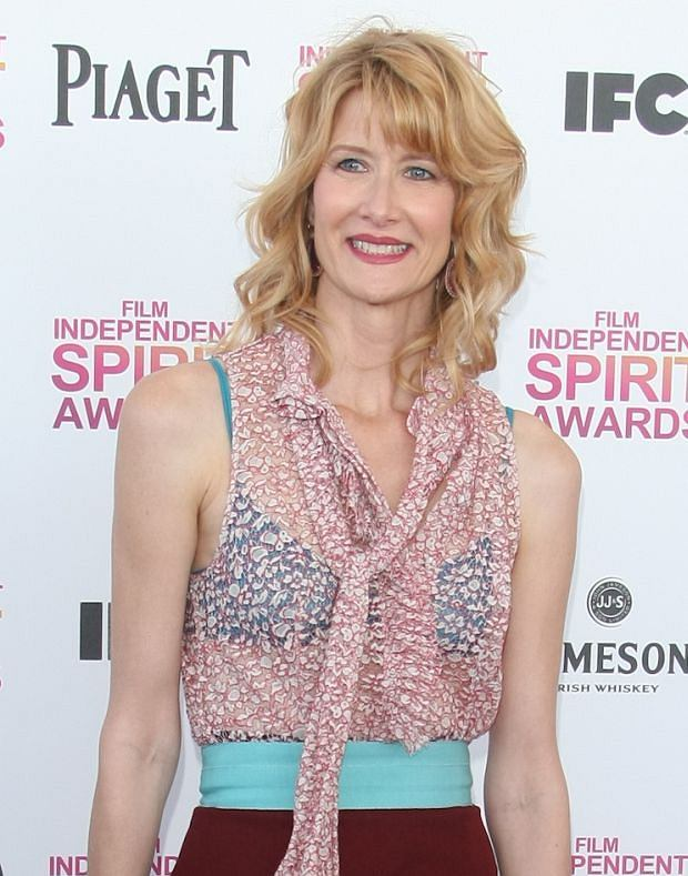 February 23, 2013: Laura Dern in the press room during the 2013 Film Independent Spirit Awards at Santa Monica Beach in Santa Monica, California. Mandatory Credit: INFphoto.com Ref.: infukyo-01|sp|NO UK, NO GERMANY.