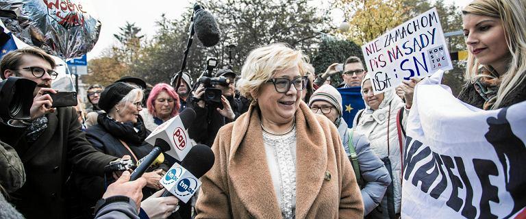 Małgorzata Gersdorf wezwała wszystkich zawieszonych sędziów SN do stawienia się w pracy