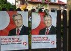 Wybory prezydenckie 2015. Dzia�aczom PO si� nie chcia�o, plakat�w Komorowskiego by�o ma�o