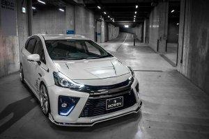 Toyota Prius+ | Tuningowy potworek Rowena