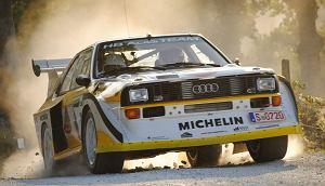 Zobacz Audi Quattro S1 w akcji