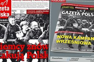 Tę okładkę już gdzieś widzieliśmy. Gazeta Polska znów z fotomontażem na zdjęciu Wehrmachtu