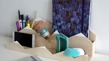 DIY - organizer na biurko