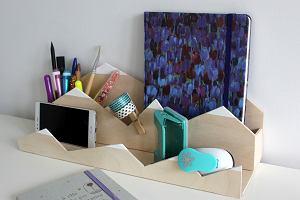 Jak zrobić organizer na biurko w stylu skandynawskim?