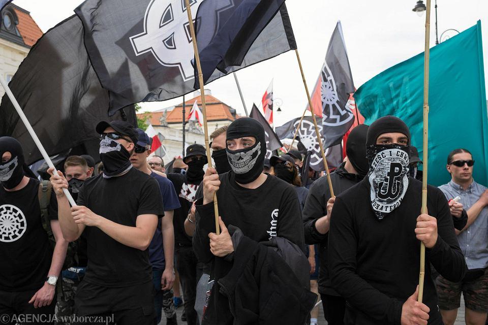 Blokada nacjonalistów przy Nowym Świecie
