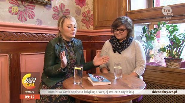 Dominika Gwit w programie 'Dzień Dobry TVN'