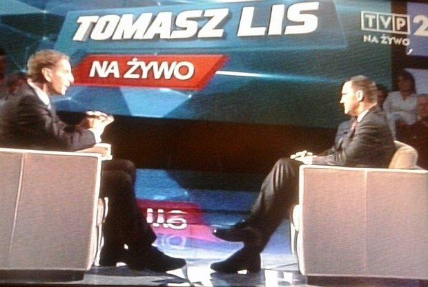 Tomasz Lis i Radosław Sikorski