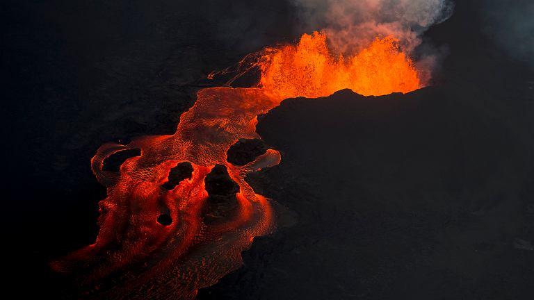 Hawaje. Wulkan Kilauea