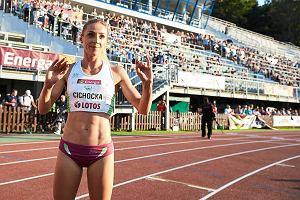 Angelika Cichocka po długiej przerwie wraca na bieżnię