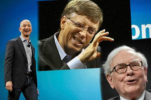Oto najbogatsi ludzie na świecie. Tegoroczne zestawienie Forbesa jest rekordowe